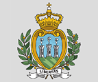 The Coat-of-arms of Republic of San Marino